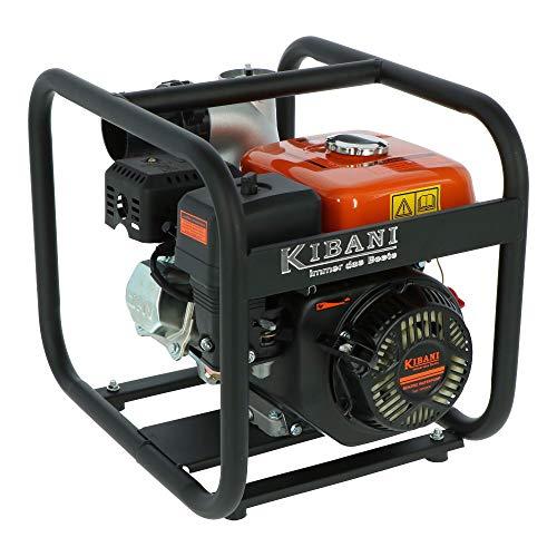 Motopompa KIBANI 60.000 litri ora motore a 4 tempi 196 cc / 6,5 HP / 4,7 kW