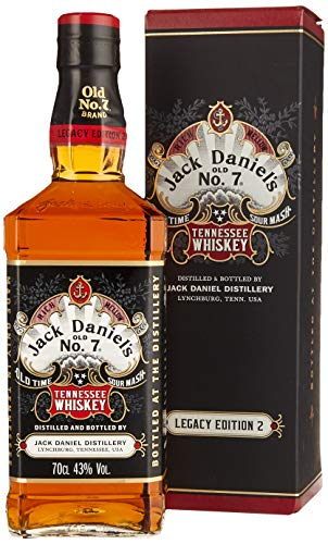 Jack Daniel's Legacy Edition 1905 - No 2 - limititierte Sonderedition in der Geschenkbox - Tennessee Whiskey - 43% Vol.