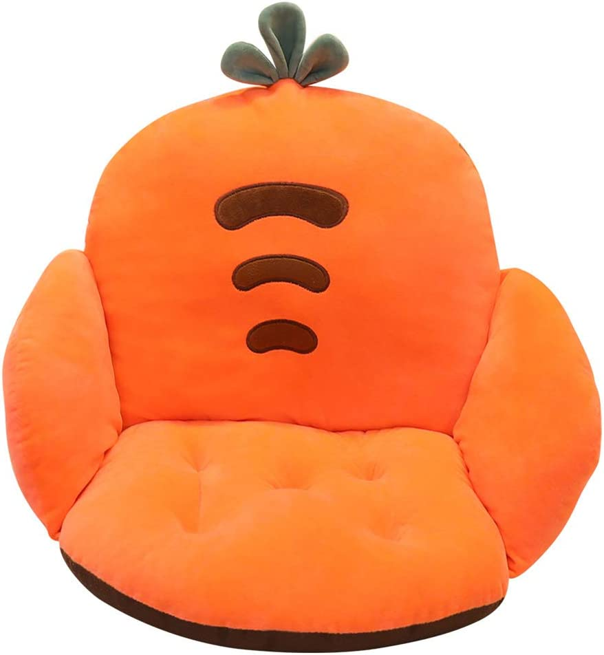 Cartoon Chair Cushion Lumbar Back Pad Support Seat Pill Special Campaign Opening large release sale Thicken