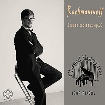Rachmaninoff Etudes-tableaux op.33
