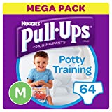 Huggies pull-ups pantalones de entrenamiento para niños, grandes, 14x4 (56 piezas)