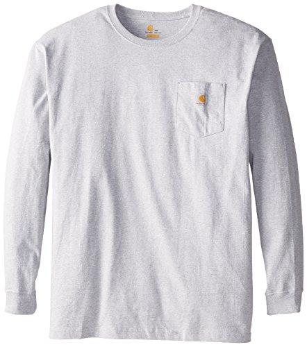 Carhartt - Maglietta da Uomo Grigio mlange 3XL