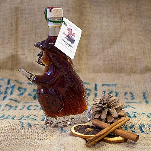 Hexenflasche mit Hexenkräuter | milder, kräftiger Kräuterlikor | Kräuterschnaps aus 38 einheimischen Kräutern | Harzer Schnapsspezialität