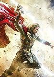 JIANGGE Gedruckte Kunst Leinwand Poster Wandbild, Thor