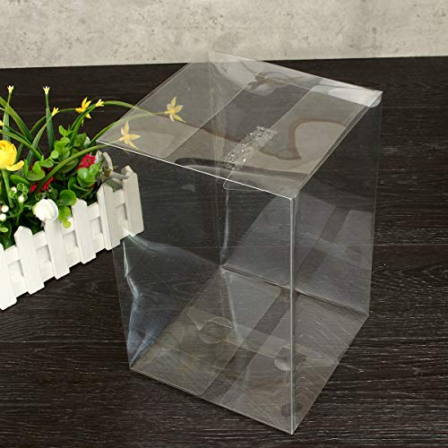 TuToy 18 * 18 * 27 Cm Pvc Pop Protector Crystal Clear Plastic Box Standaard Verpakking Bescherming Case Board