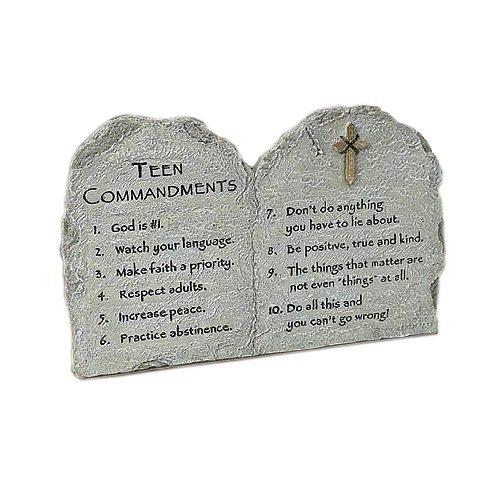 Abbey Press Teen Commandments Plaque, 7.75 x 4.75