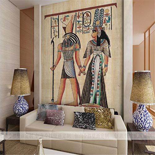 Tapeten Wandbild Aufkleberbenutzerdefinierte Fototapete Wohnzimmer Sofa Tv Hintergrundbild Persönlichkeit Restaurant Großes Wandbild Ägypten Tapete Wandbild