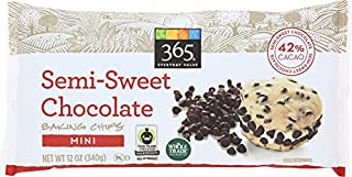 365 Everyday Value, Semi-Sweet Chocolate Mini Baking Chips, 12 oz