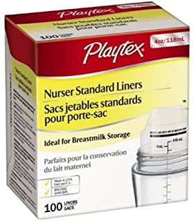 Playtex Standard BPA Free Disposable Nurser Liners 4 oz - 100 Count (Discontinued by Manufacturer)