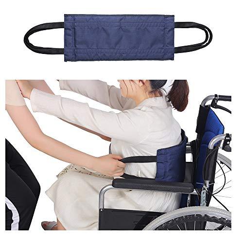 Bariatric Medical Bloedriem, met verstelbare riem voor rolstoelgebruikers, auto, bed, stoel blauw