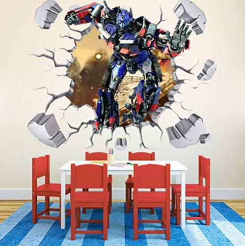 Wandtattoo Transformers Optimus Prime Hornet Autobot 60x90cm Wandbild Des Aufklebers 3d, Plakat, Haupttapetenschlafzimmerwohnzimmer-küchenhauptdekor