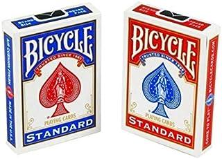 Bicycle2PCS/Set Poker Red/Blue Bicycle Regular Playing Cards Rider Back   Version Sealed Decks Magic Playing Cards