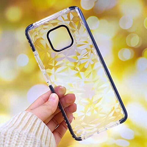 SHRHSJSJK pour l'honneur 10 Diamond Phone Case pour Huawei P20 P30 Lite Nova 4 3E Compagnon 20 Pro Soft TPU Transparent Case Couverture Antichoc