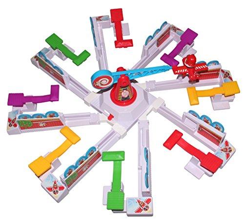 Tapes4you Komplettset Drunken Louie für Looping Louie 8 Spieler inkl. Adapter für 8 Personen (Blau)