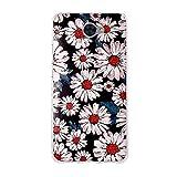 Huawei Y7 Hülle, FUBAODA, Romantische Klassische Blumen Zeichnung, Transparent Weiche Silikon Schutzhülle TPU Bumper Hülle für Huawei Y7 (5.5