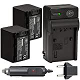 BM 2 NP-FV70 Batteries and Charger Kit for Sony FDR-AX53 FDR-AX700 HDR-CX455/B...