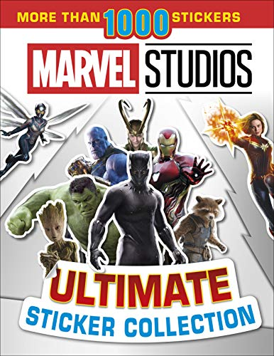 Marvel Studios Ultimate Sticker Collection: With more than 1000 stickers