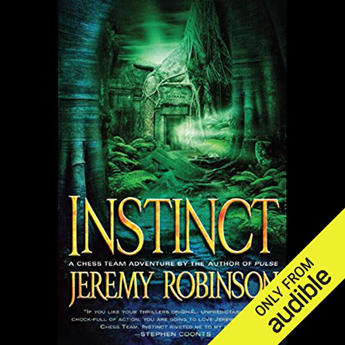 INSTINCT (A Jack Sigler Thriller - Book 2)                   By:                                                                                                                                 Jeremy Robinson                               Narrated by:                                                                                                                                 Jeffrey Kafer                      Length: 11 hrs and 47 mins     421 ratings     Overall 4.5