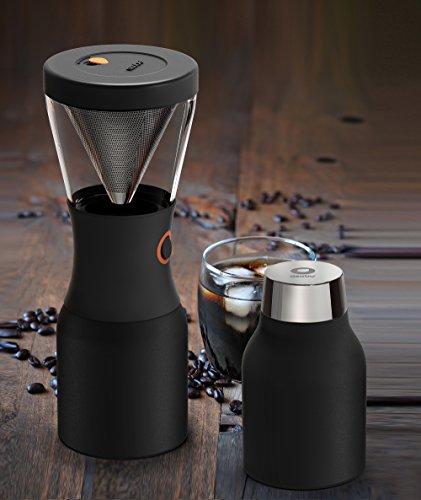 Asobu 0842591028359 Cold Brew Coffee Brewer, Black