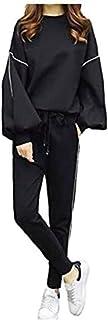 [アンリ] 2点セット おしゃれ ジャージ 上下 ルームウェア 部屋着 ゆったり かわいい ルーム着 ふんわり袖 レディース