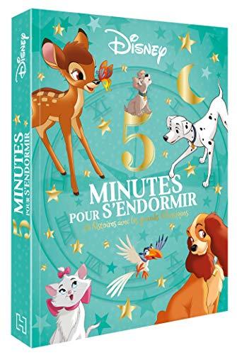 DISNEY - 5 Minutes pour S'endormir - 12 Histoires avec les Grands Classiques: Les grands Classiques