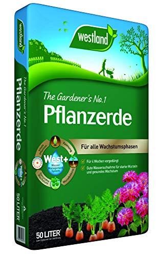 Westland Pflanzenerde, Blumenerde, 734145, Tonfarben, 50 L