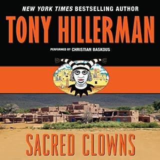 Sacred Clowns audiobook cover art