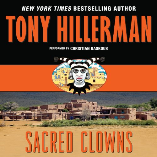 Sacred Clowns audiobook cover art
