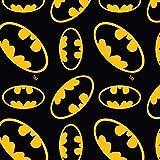 Visage Marvel Fabrics VISF116 Batman-Logo, 100% Baumwolle,