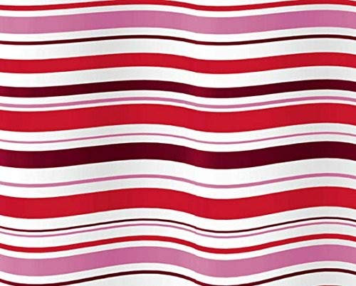 Gedy Duschvorhang g-righe rot 120x 200(6012773330)