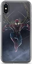 iPhone Xs Max Pure Anti-Scratch Case Iron Spiderman Action Peter Paker Stan Lee Movie Shield Avengerss Comic Superhero
