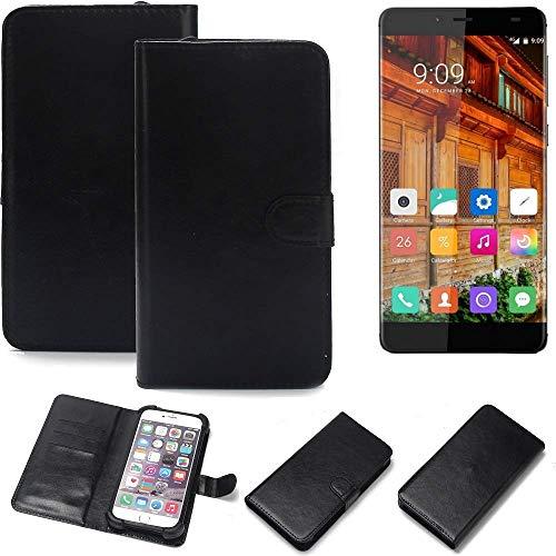 K-S-Trade® Handy Schutz Hülle Für Elephone S3 Lite Schutzhülle Bumper Schwarz 1x