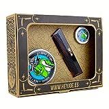 HEY JOE - Pomade Survival Kit SUPER STRONG | Kit pomada EXTRA FUERTE contiene la pomada 100 ml, 15 ml. y nuestro peine de bolsillo hecho a mano