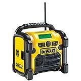 dewalt radio de chantier dewalt dcr020 xr digital radio (10.8v 14.4v 18v)