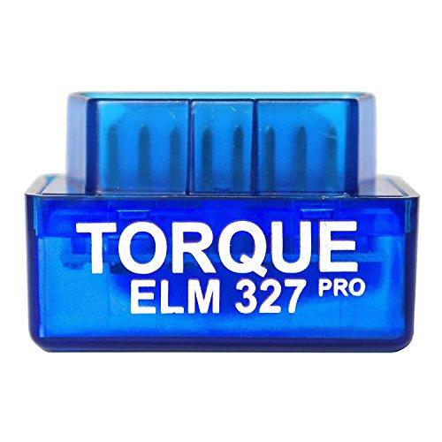 Torque Pro Elm 327, Lettore codice di Errore Bluethooth OBDII OBD 2, Accessorio per Fotocamera e registratore, Solo per Android