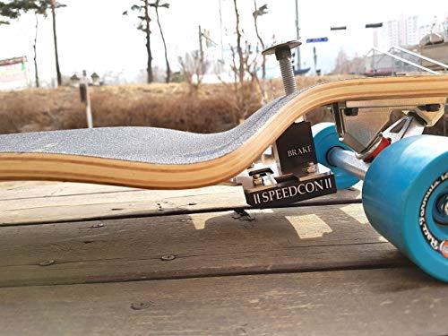 2020. DWR Bremse für Drop Down Longboard((A Premium NBR Rubber Pad Brake)