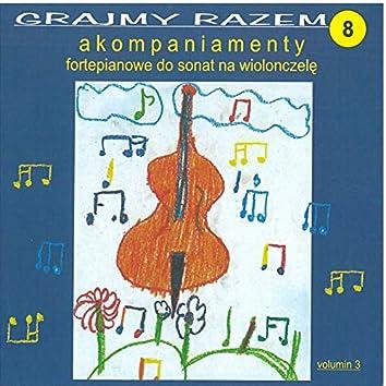 Marcello: Grajmy razem - akompaniamenty fortepianowe do sonat na wiolonczelę vol 8