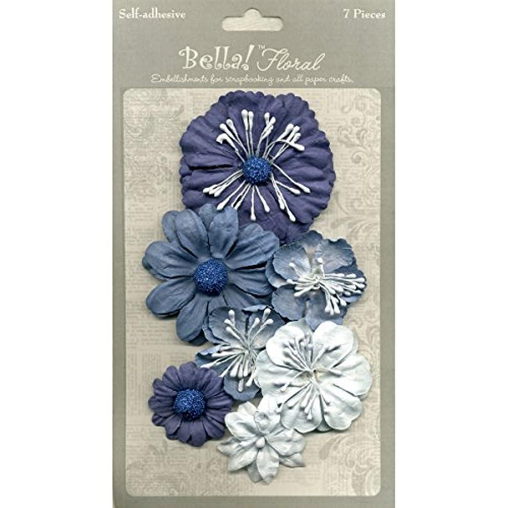 Ruby Rock-It JA0474 Bella Paper Florals - Blue