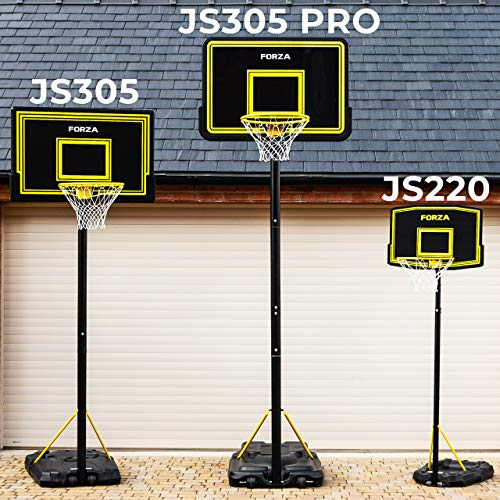 Photo of FORZA Adjustable Basketball Hoop And Stand System | 4 Sizes | Optional Accessories (JS220 | Junior, Post Only)