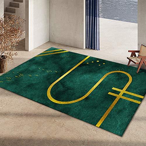 DJUX Alfombra mullida,Alfombra de Piel sintética,universales alfombras de Varios tamaños utilizadas en pbedroom, Sala de Estar,Silla o sofá,80x200cm