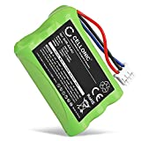 CELLONIC® Batería de Repuesto 3HR-AAAU,70AAAH3BMXZ,T373 para Bang & Olufsen BEOCOM 6000, 700mAh, Accu Pila Battery