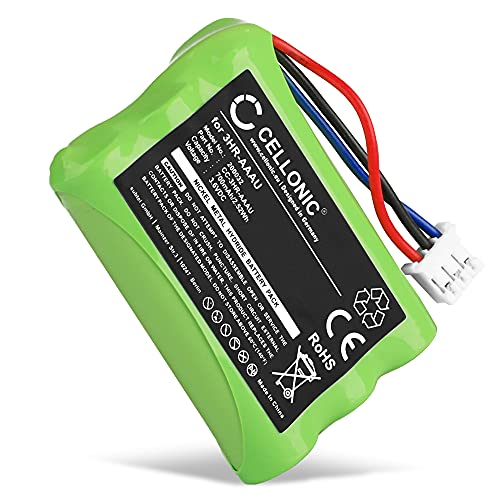 CELLONIC Batería de Repuesto 3HR-AAAU,70AAAH3BMXZ,T373 para Bang & Olufsen BEOCOM 6000, 700mAh, Accu Pila Battery