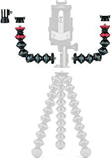 JOBY JB01532 BWW GorillaPod Flexible Arme und Halterungen Zubehör Kit (geeignet für Smartphones, iPhone, Action Kameras, Blitzlicht, LEDs, Mikrofon)