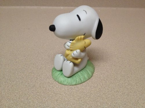 Peanuts Westland Giftware Snoopy and Woodstock Ceramic Figure