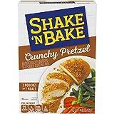 Shake 'N Bake Crunchy Pretzel Seasoned Coating Mix (16 ct Pack, 8 Boxes of 2 Packets)