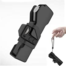 Carrying Case Compatible with DJI Osmo Pocket Handheld Gimbal Camera Installed Controller Wheel BonFook Mini Portable Protect Cover,OSMO Pocket and Accessories Storage Hand Bag Box with Lanyard