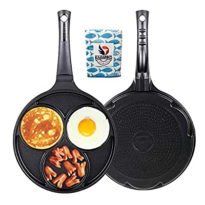 Induction Egg frying pan 3-cup Three Mold Used for induction and all heat sources Korean cookware non stick baking egg Various Cooker Pan
