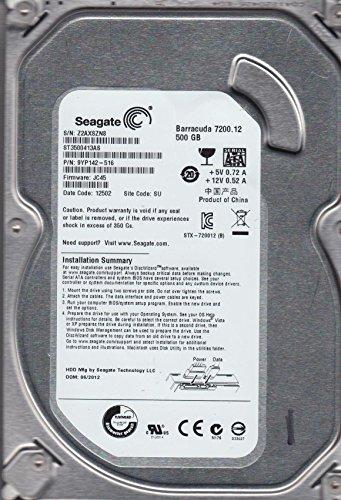 ST3500413AS - SEAGATE HDD 500GB SATA 7.2K 3.5''