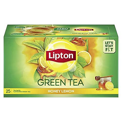 Lipton Honey Lemon Green Tea Bags