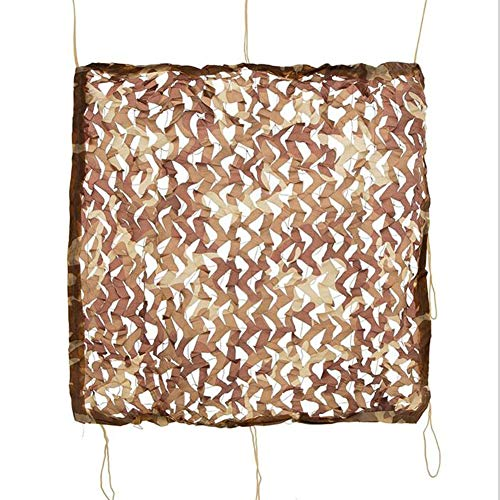 WXQIANG Tarnnetz, Schattennetz, 70 % Schatten, Camouflage-Stoff, Sonnenschutz Tuch mit Tarnösen für Pergola-Abdeckungen, Sonnenschutz und Wärmedämmung.